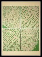 knocking off fingerprint portrait tutorial
