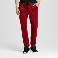 Men's Knit Jogger Red S - Mossimo Supply Co., Size: Small
