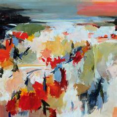 "Saatchi Art Artist Ute Laum; Painting, ""Aufatmen (just breathe)"" #art"