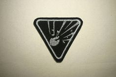Under Pressure May Explode  Embroidered IronOn SewOn Patch