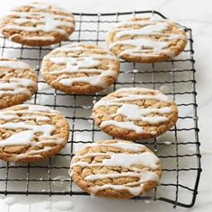 Frosted Ginger Cookies | MyRecipes.com
