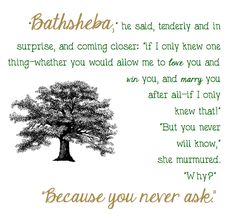 Best-Loved Literary Quotes Bathsheba Far From the Madding Crowd Thomas Hardy