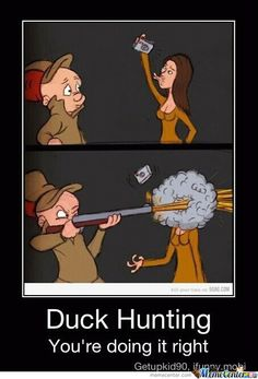 Duck face hunting meme - photo#24