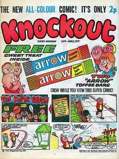Knockout, issue # 1. Can't recall if I had this.