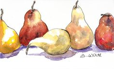 Pear After Pear Painting