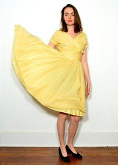 Yellow is such a fun summer color.
