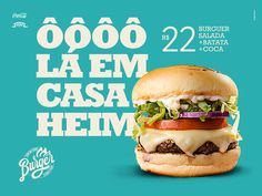 Showcase and discover creative work on the world's leading online platform for c… - Vegan Fast Food Food Graphic Design, Food Poster Design, Food Menu Design, Graphic Design Posters, Web Design, Social Media Ad, Social Media Banner, Social Media Design, Burger Branding