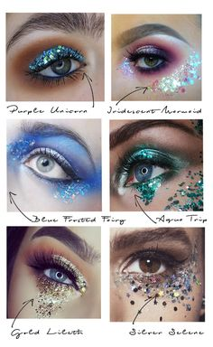 How to apply glitter eyeshadow - In Your DreamsYou can find Eye glitter makeup and more on our website.How to apply glitter eyeshadow - In Your Dreams Festival Eye Makeup, Festival Makeup Glitter, Glitter Eye Makeup, Glitter In Hair, Halloween Makeup Glitter, Sparkle Makeup, Glitter Party, Glitter Lips, Green Glitter