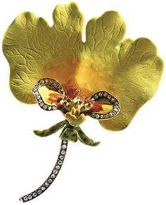 An Antique Gold, Enamel and Diamond Orchid Brooch, Paulding Farnham for Tiffany & Co. Enamel Jewelry, Antique Jewelry, Vintage Jewelry, How To Wear Rings, Art Deco, Art Nouveau Jewelry, Tiffany And Co, Tiffany Art, Tiffany Jewelry