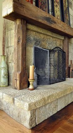 Cozy Rustic Wood Mantels For Sale Rustic Wood Mantels For Sale - This Cozy Rustic Wood Mantels For Sale images was upload on November, 17 2019 by admin. Here latest Rustic Wood Mantels. Rustic Fireplaces, Home Fireplace, Wood Fireplace, Fireplace Mantels, Reclaimed Wood Beams, Rustic Mantle, Rustic Fireplace Mantels, Fireplace, Rustic House
