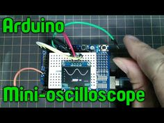 Arduino mini-oscilloscope - YouTube