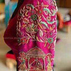 Wedding Saree Blouse Designs, Pattu Saree Blouse Designs, Silk Saree Blouse Designs, Blouse Neck Designs, Wedding Blouses, Saris, Indiana, Designer Blouse Patterns, Instagram
