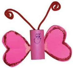 Easy Valentine Crafts for Kids   92064 Magazine
