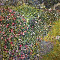 Gustav Klimt (1862-1918, Austria) | Giardino Italiano, 1913