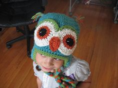 owl hat - need to find a pattern!