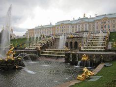Peterhof, Saint Petersburg  Sweet by Pipinha : São Petersburgo em imagens