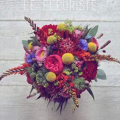 /// W e d d i n g.  Le bouquet ColorPopSuperVitaminé de Vanessa  #wedding #love #justmarried #colorful #pop #color #florist #flower #lefleuriste #fleuriste #lille #france #instawedding #instaflower #instagood