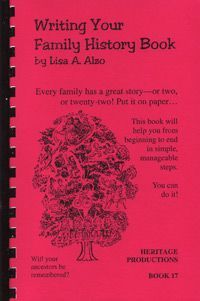 writing your family history genealogy heritage albums