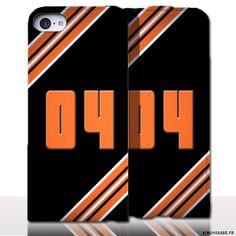 Protection iPhone 5 Cuir Numero 4 - Département des Alpes de Haute Provence. #Numero #4 #iPhone5 #Cuir