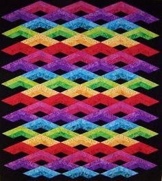 Diamond Mine Quilt http://www.desertstitchin.com/shop/product/diamond-mine/#