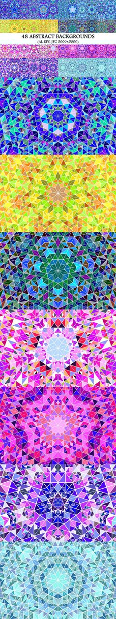 48 Radial Triangle Mosaic Backgrounds #tile #GraphicDesign #background #behance #BackgroundGraphic #design #triangle #design #VectorPattern #VectorGraphics #polygon #PatternDesign #abstract #pattern #mosaic #pattern #VectorBackgrounds #graphics #vector #BackgroundDesigns Vector Background, Background Patterns, Vector Pattern, Pattern Design, Vector Design, Graphic Design, Vector Graphics, Geometry, Backdrops