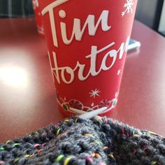 It's the busy season for sure when I am having coffee and working at the same time. Host Gifts, Knit Dishcloth, Diabetic Friendly, Womens Slippers, Stocking Stuffers, Handmade Items, Colours, Coffee, Knitting