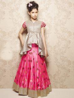 G3 Exclusive Pink Silk Wedding Wear Lehenga Choli