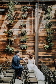 A Non-Traditional Wedding at an Urban Winery in Williamsburg New York Wedding Venues, Unique Wedding Venues, Nontraditional Wedding, Wedding Vendors, Wedding Styles, Rustic Wedding, Wedding Ideas, Weddings, Violet Wedding Cakes
