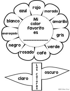 Spanish-Interactive-Notebook-Activity-Los-Colores-2102222 Teaching Resources - TeachersPayTeachers.com