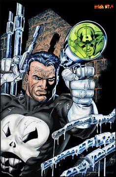 The Punisher Art : Mike Zeck Color mich974 http://mich974.deviantart.com/