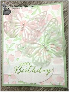 """Hi Stampers! I want to share another Sneak Peek with you today! This card uses several fabulous products from the new 2015 Occasions Catalog! I started with dry embossing a 5 1/4"""" x 4"""" pie..."""