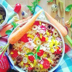 In Cucina con Mamma Agnese: Insalata di Buon Riso con verdure scottate Olive P...