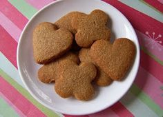 Mrs Ed's Research and Recipes: Grain-Free Butter Cookies (SCD)