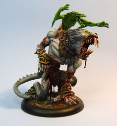 Warpwolf being reanimated by a Feralgeist.