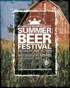 Summer Beer Festival - 2004 by Mike Basse, via Behance