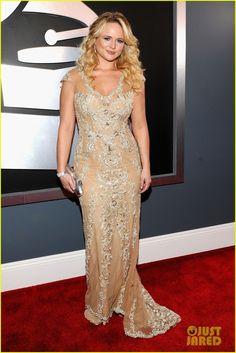 Miranda Lambert - Grammys 2012 Red Carpet-knocks it out of the park....