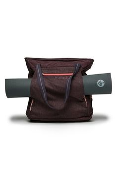 GO Ready. This bag is awesome! So many useful compartments and can fit any size yoga mat. It also came with a small bag where I can put my sweaty clothes in after a yoga class.I can use it for everyday as well.It is the best gift! Yoga Mat Bag, Yoga Fashion, Best Yoga, Workout Wear, Pilates, Messenger Bag, Purses, Bags, Nordstrom