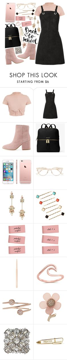 """school shopping"" by tropicalcraze ❤ liked on Polyvore featuring rag & bone, Sam Edelman, MICHAEL Michael Kors, Cutler and Gross, ABS by Allen Schwartz, Natasha, MAC Cosmetics, Bony Levy, Miss Selfridge and Chanel"