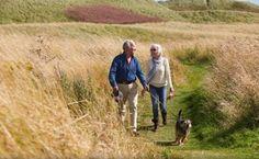 Caminar regularmente con un perro ayuda a incrementar la actividad física en las personas mayores