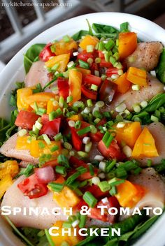 Spinach and Tomato Chicken