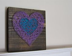 Free standing rustic String Art. by PiccadillySignsDecor on Etsy