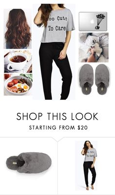 """""""British Breakfast"""" by teodoramaria98 ❤ liked on Polyvore featuring UGG Australia and Boohoo"""