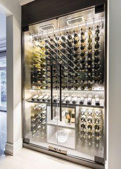 Wine Fridge - Modern