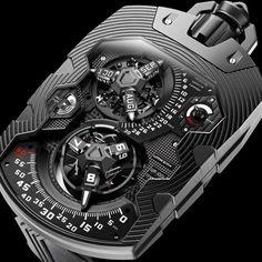 Urwerk UR-1001 Zeit Device  Ultra-Complicated Watches by AskMen.com