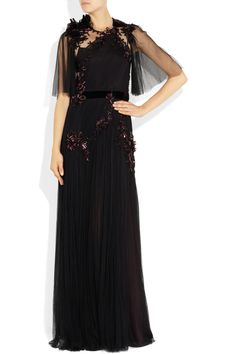 Gucci | Sequined tulle gown