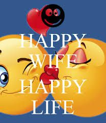 Image result for happy wife happy life