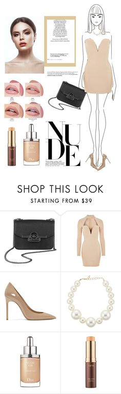 """""""Untitled #810"""" by coffeegirl233 ❤ liked on Polyvore featuring Rare London, Yves Saint Laurent, Kenneth Jay Lane, Christian Dior and tarte"""