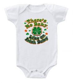 Kiditude - Irish Baby Onesie $16.95 Read more: http://www.kiditude.com/catalog/funny-baby-clothes/irish-baby-onesie-846.html