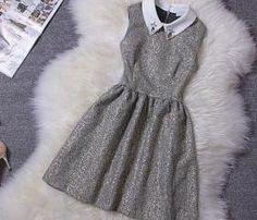 cute collar dress