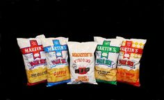 Martin's Potato Chips - made in Thomasville, Pennsylvania Best Chips, Snack Recipes, Snacks, Best Bbq, Getting Hungry, Milk And Honey, Ben And Jerrys Ice Cream, Potato Chips, Lancaster